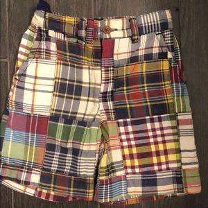 Boys Polo Ralph Lauren madras shorts 4/4T